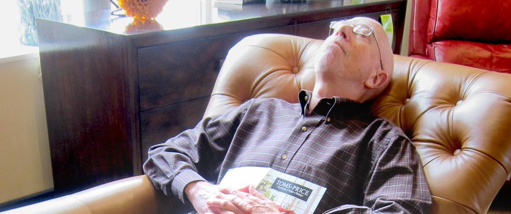 Sleeping in Recliner