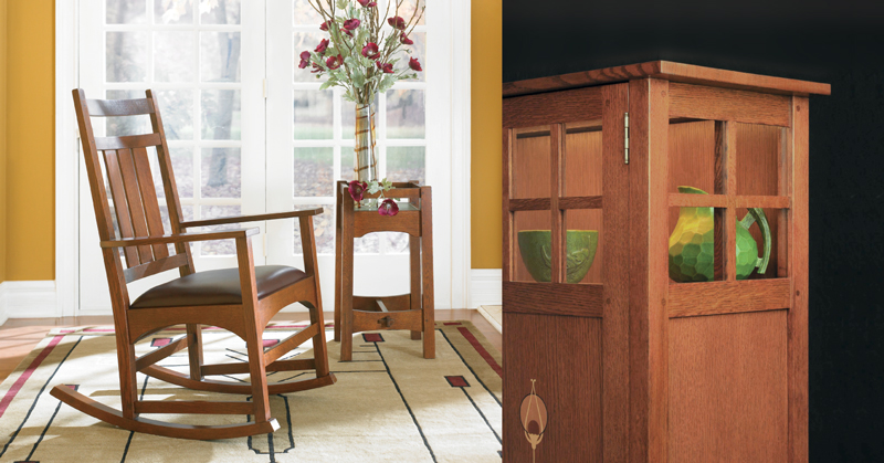 American Craftsman Furniture from Toms-Price
